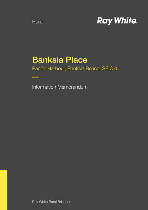 Banksia Place - Information Memorandum