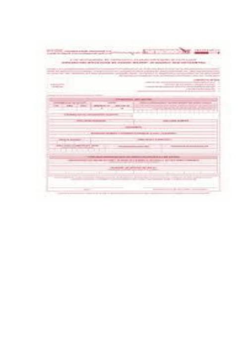 trabajo de español requisitos