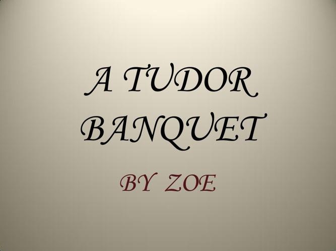 Zoe's Tudor Project