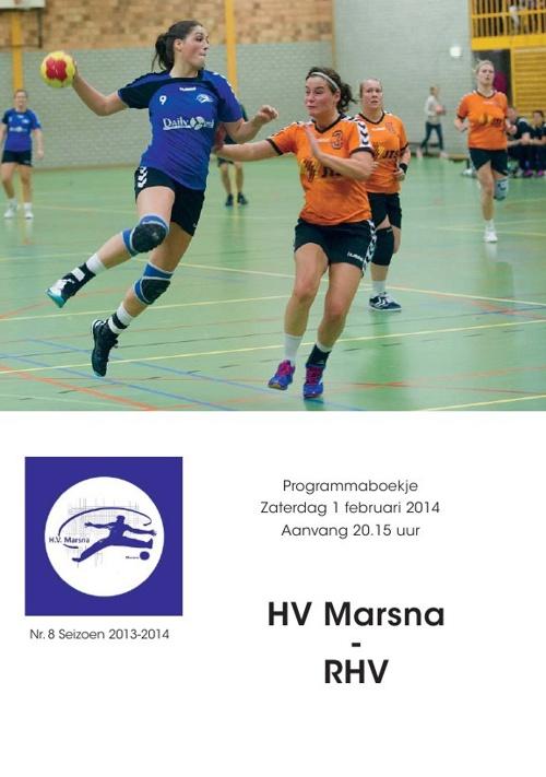 Programmaboekje 8: Marsna - RHV