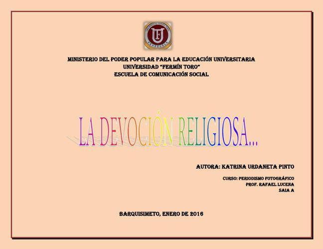 Album Digital Katrina U. Devoción Religiosa