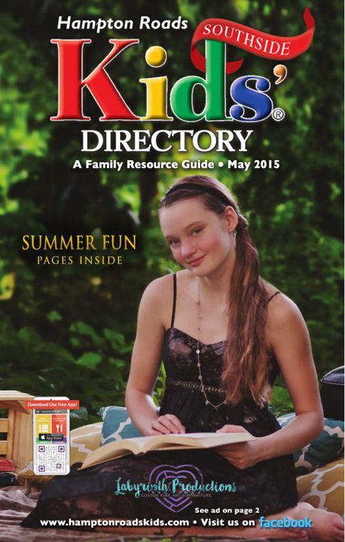 Hampton Roads Kids' Directory: Southside Edition - May 2015