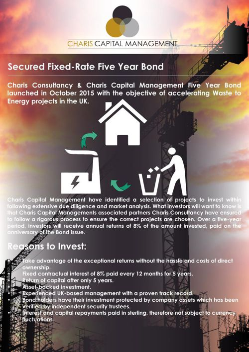 Secured Fixed-Rate Five Year Bond