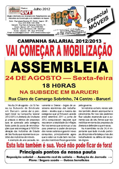 Assembléia Agosto de 2012 - Móveis