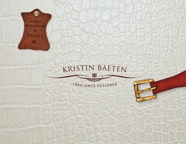 Kristin Baeten—Sample Book