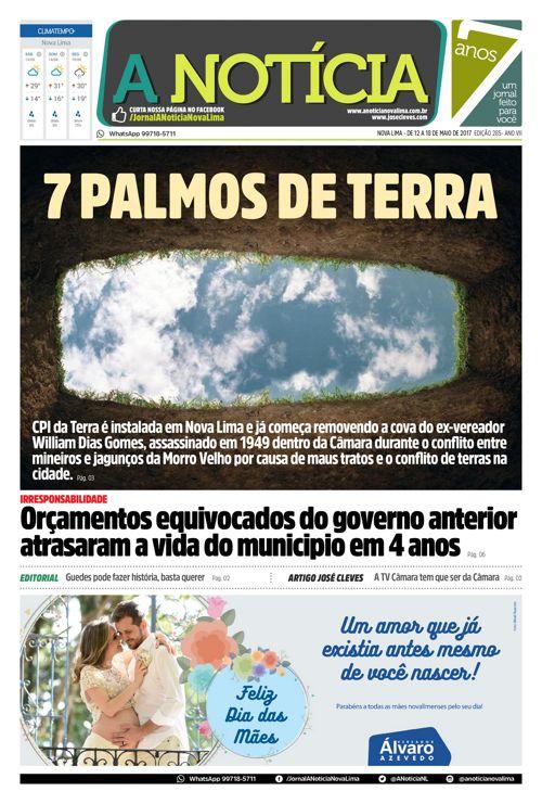 Jornal A Notícia - Edição 285