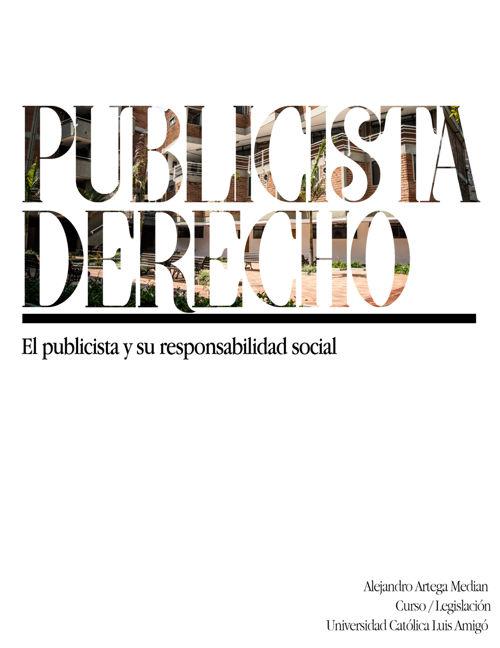 Publicista derecho Alejandro arteaga