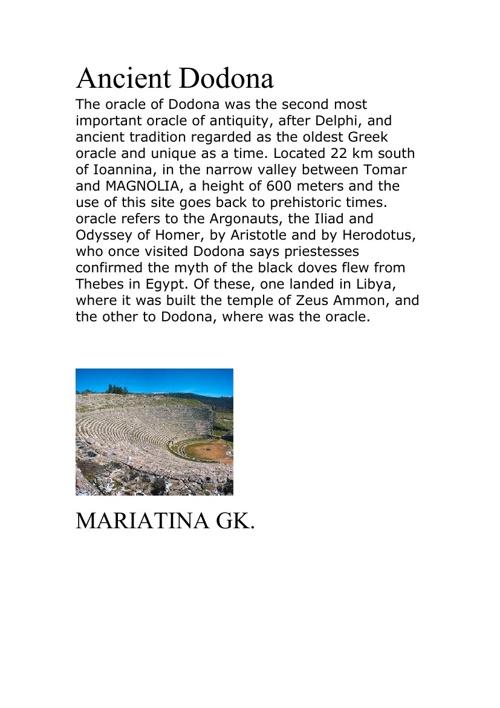 Copy of Ancient Dodona