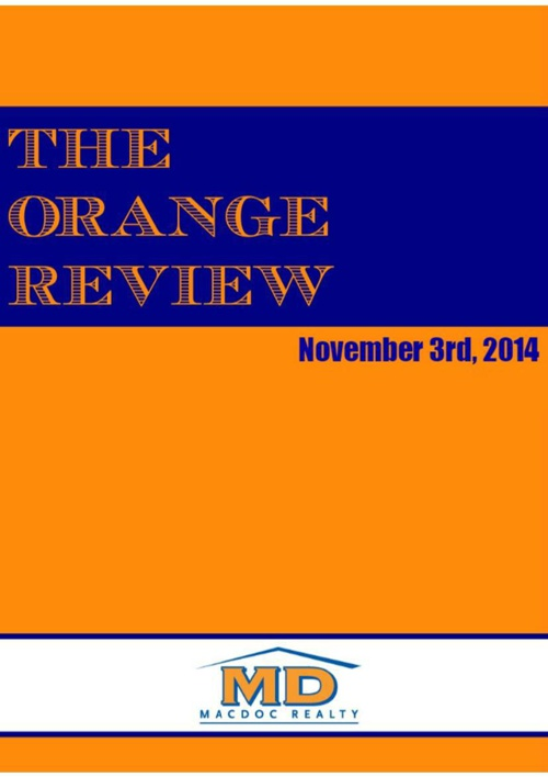November Orange Review
