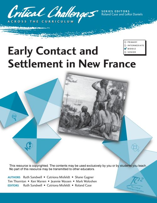 Early Contact and Settlement in New France