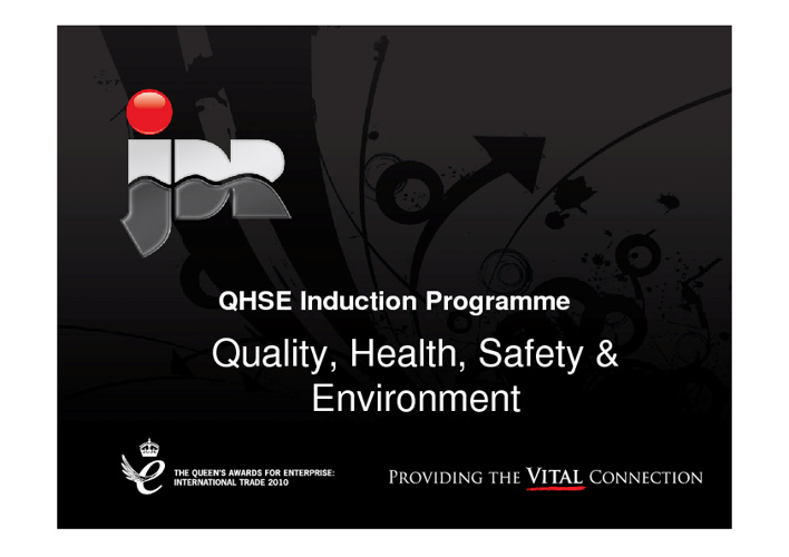 QHSE Induction