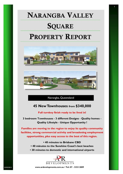Narangba Valley Square Townhomes - Property Report