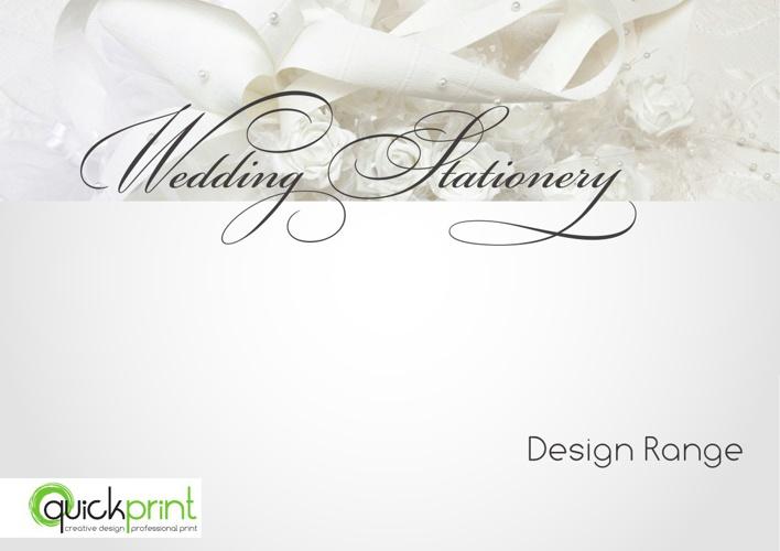 Wedding Stationery Design Range