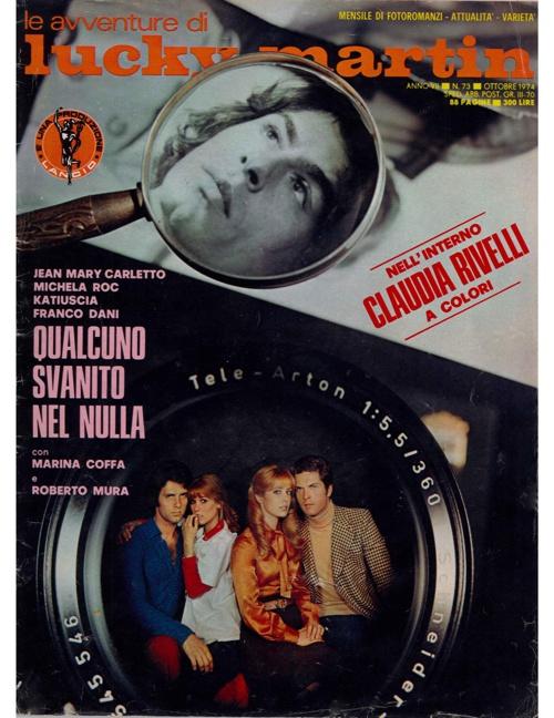 LUCKY MARTIN N. 73 (1974) - QUALCUNO SVANITO NEL NULLA-1
