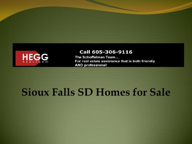 Sioux Falls SD Homes for Sale