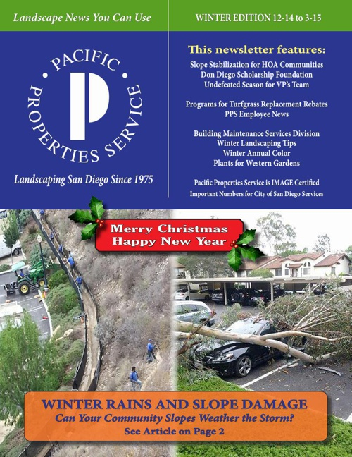 PPS Newsletter: Winter 12-14 to 3-15