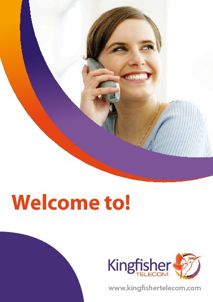Welcome to Kingfisher Telecom