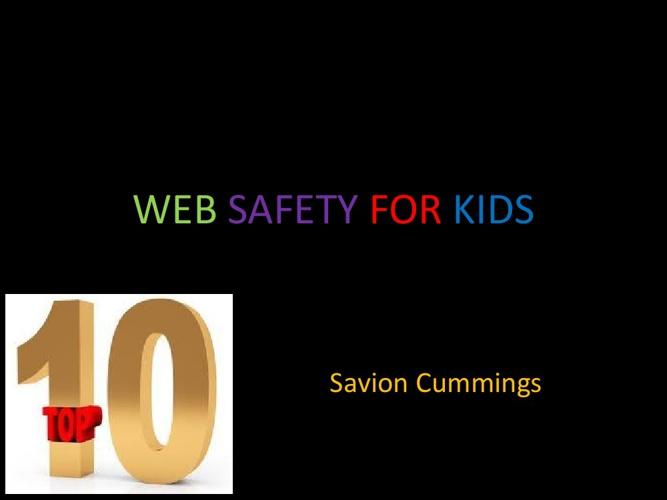 Copy of WEB SAFTEY BOOKLET