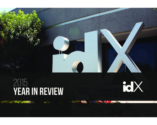 idX Annual Year in Review | 2015