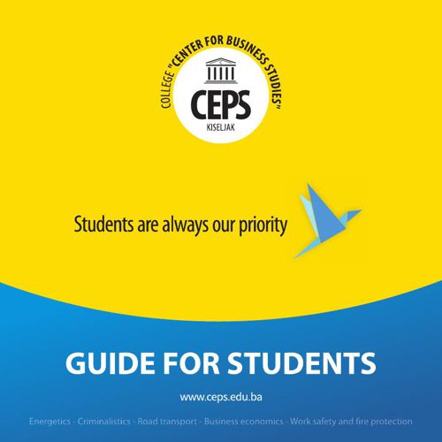 CEPS Guide for students