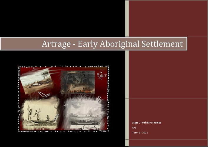 Artrage Aboriginal Artwork Early Settlement