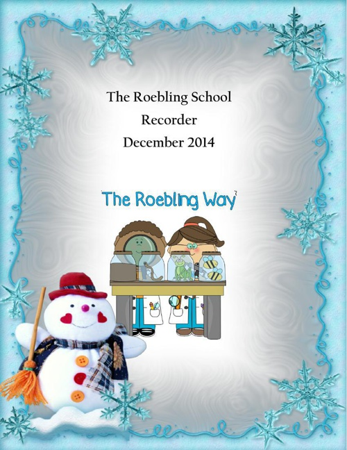 December 2014 Roebling Recorder