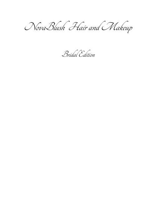Novablush Bridal Edition