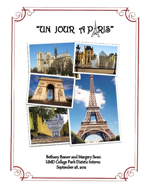 Un Jour a Paris