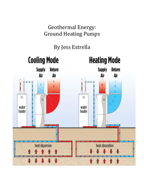 Ground Heat Pumping