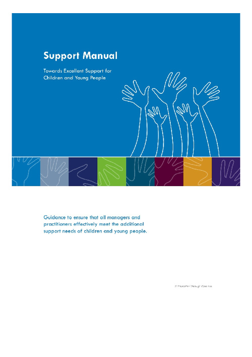 Preview of ASN/SEN Support Manual