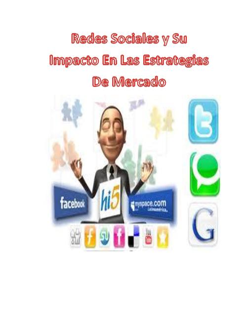Redes Sociales Y Su Impacto En Las Estrategias De Mercado