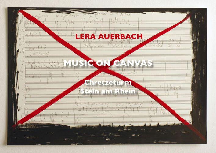 Lera Auerbach - Music on Canvas