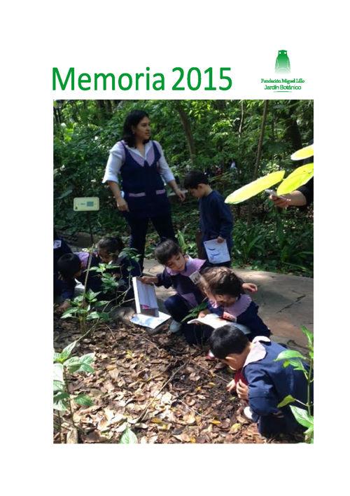 Memorias 2015