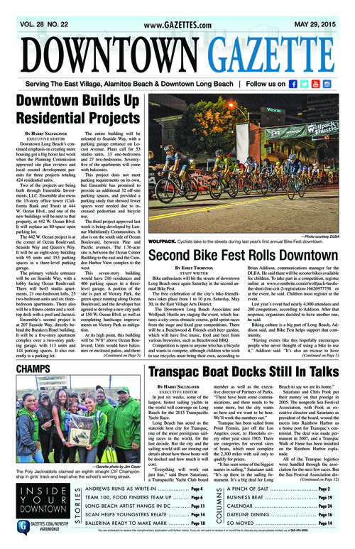 Downtown Gazette  |  May 29, 2015