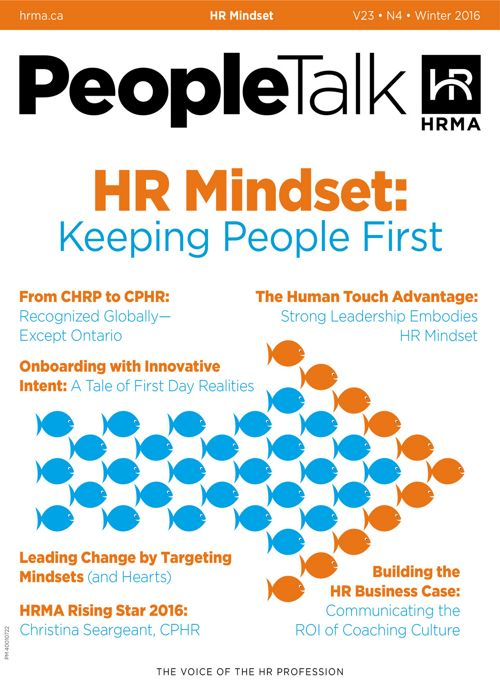 PeopleTalk Winter 2016: The HR Mindset
