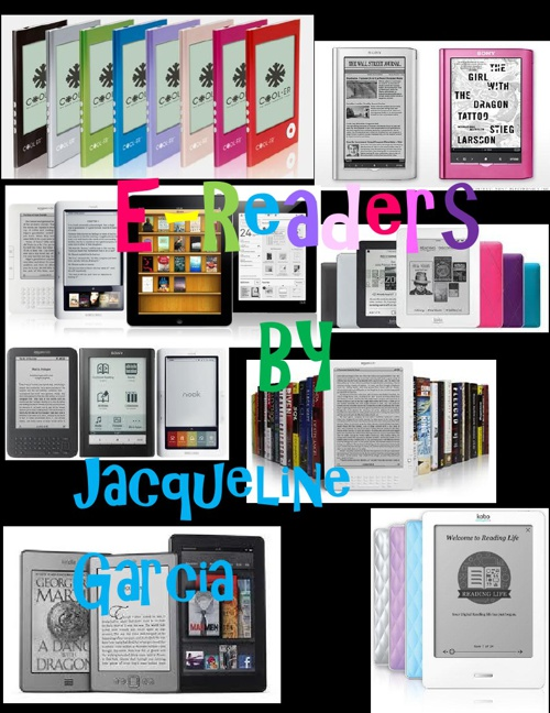 E-Readers By Jackiee