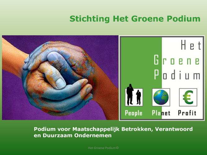Het Groene Podium