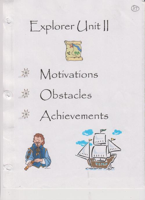 Explorers Part I