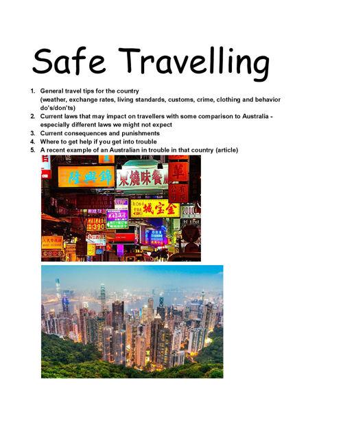 SafeTravelling