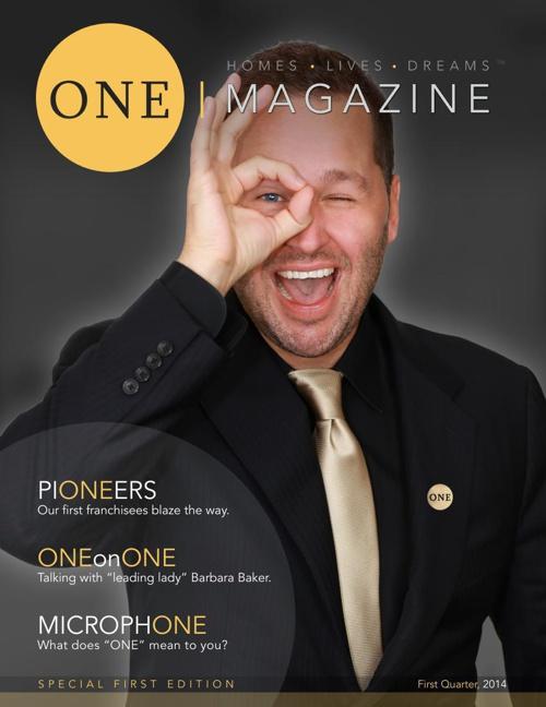 ONE Magazine First Quarter 2014