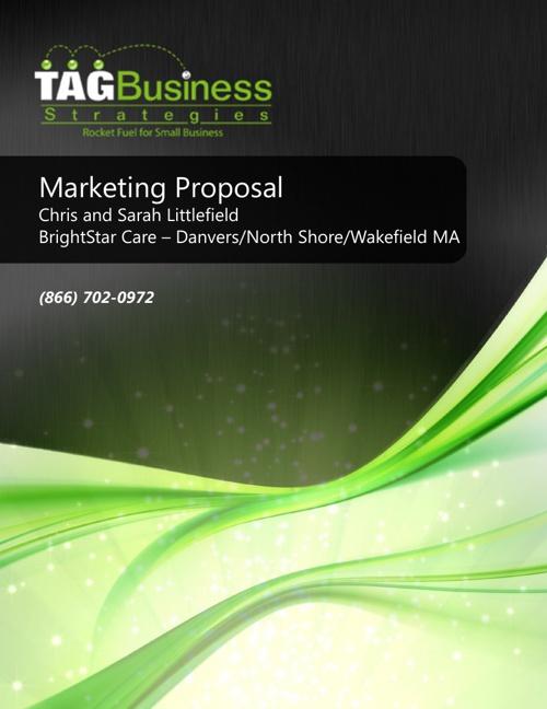 Marketing Proposal Brightstar Care Danvers MA
