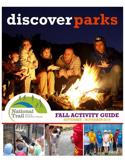 National Trail Park & Recreation District Fall Activity Guide