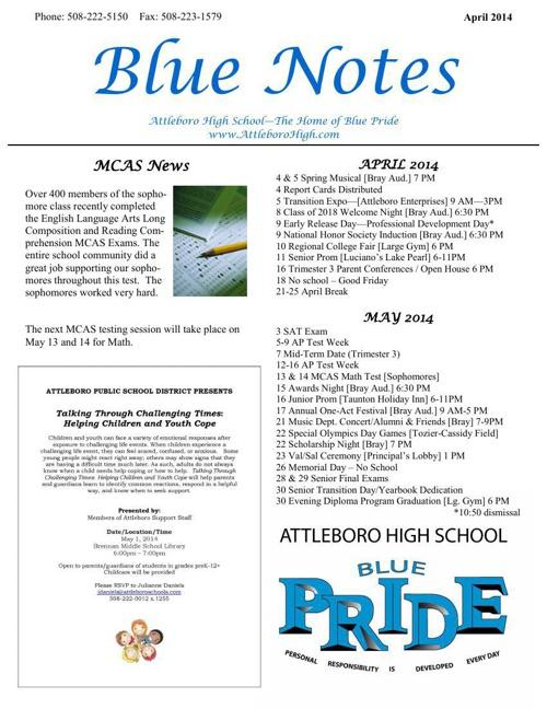 Blue Notes april2014