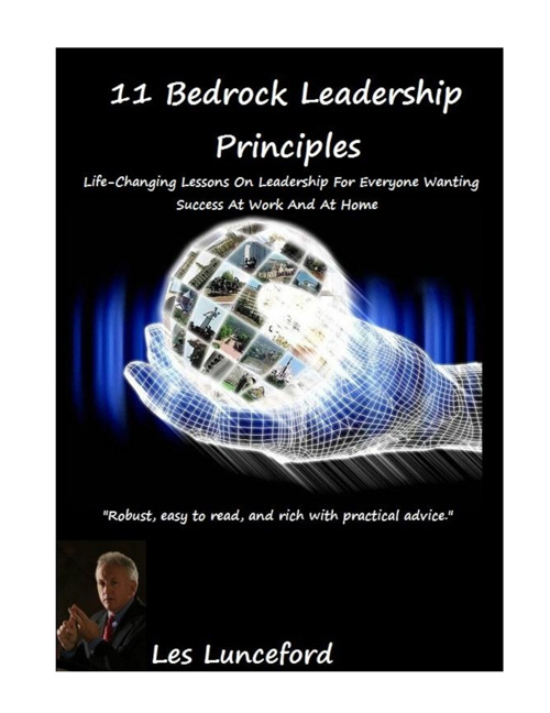 11 Bedrock Leadership Principles
