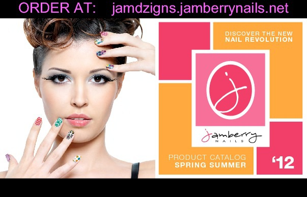 Jamberry Nails Spring 2012 ~ Diva Dzigns Independent Consultant