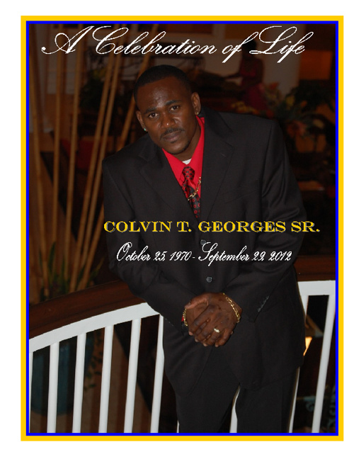 Colvin T Georges Sr.