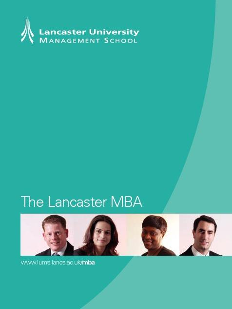 MBA prospectus flipping book