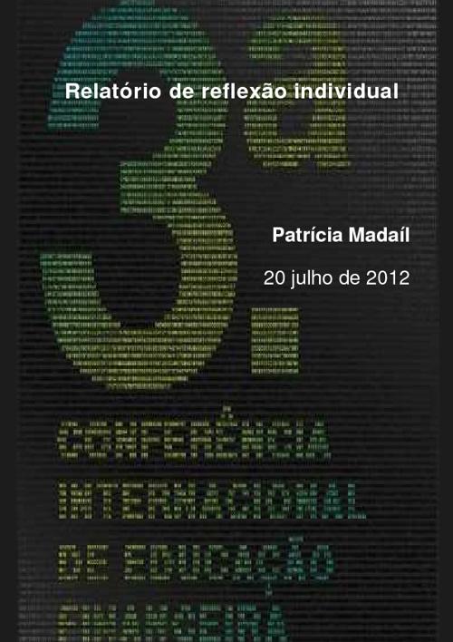 Relatório Reflexão Individual_Patrícia Madaíl