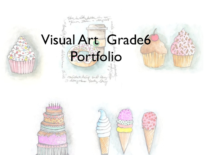 Visual Art Grade 6 Portfolio