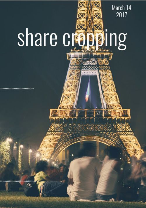 share cropping by evan